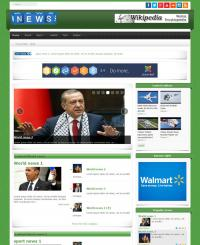 Template PORTAL3 Joomla 3.X for News and Magazine Portal