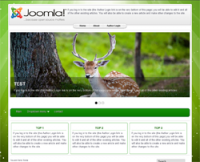 Green_Milkyway Multipurpose Responsive Template Joomla 3