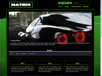 JoomlaMatrix : Black Responsive template joomla 3