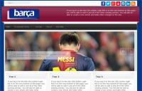 FC-Barça Multipurpose Responsive Template Joomla 3