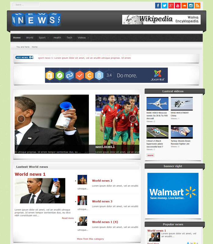 free cars portal joomla 3 free news portal news magazine template software